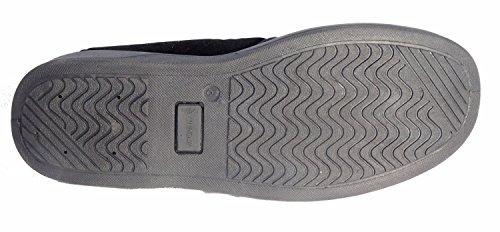 Dunlop LANCS - Zapatillas de estar por casa para hombre negro - negro