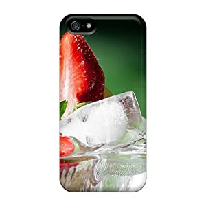 ChriDD Snap On Hard Case Cover Strawberries Protector For Iphone 5/5s