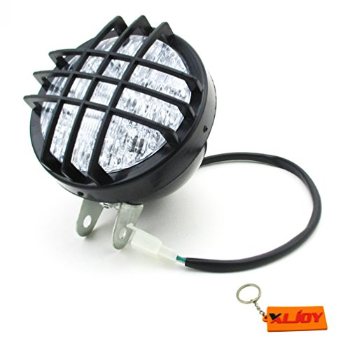 XLJOY 12V LED Head Light Front Headlight for ATV Quad 4 Wheeler Go Kart Roketa SunL ()