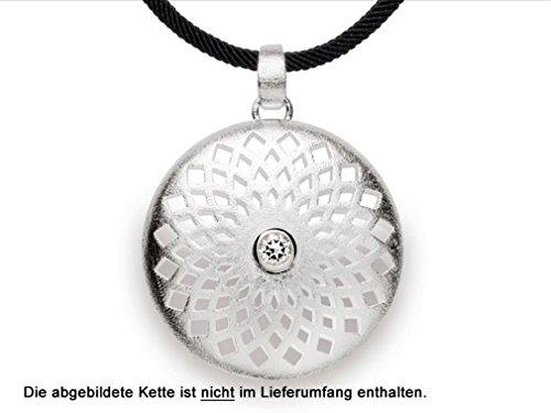 bastian inverun - pendentif argent avec topaze - 11839