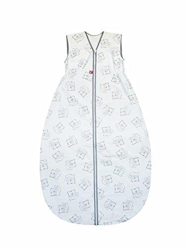 Linden 318553 saco de dormir de verano oso de peluche, 150 cm, colour gris: Amazon.es: Bebé