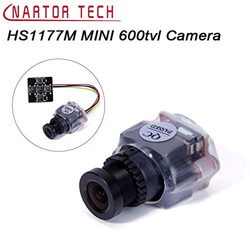 Had Ccd Box - Yoton Accessories Nartor HS1177M Mini 600tvl Sony Super HAD CCD Components PAL NTSC 2.8mm Lens Mini FPV Camera DC5V-22V Plastic Case - (Color: PAL, Delivery from 15 to 20 Days)