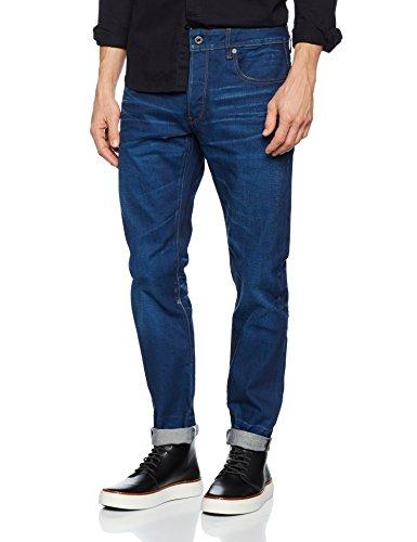 Jeans medium star G Aged Blu Raw Uomo 4ERHWFwWq