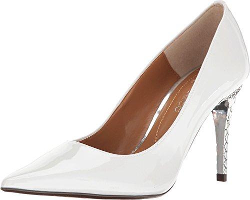 J. Renee Women's Maressa White Pearl 8.5 M US