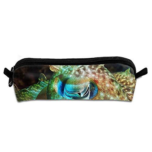Durable Zipper Stationery Bag Cuttlefish Eye Big Capacity Pencil Case