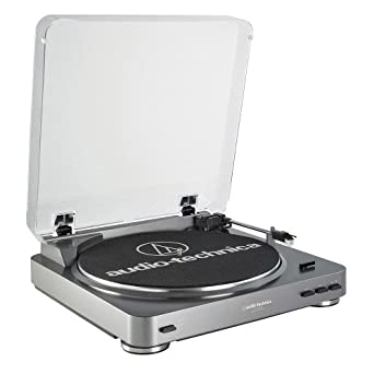 AT-LP60USB-Turntable Belt Drive with USB and Phono Preamp