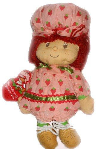 Strawberry Shortcake Classic Pink Rag Plush Doll Toy (Strawberry Shortcake Soft Doll)