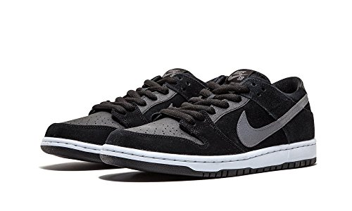 Nike DUNK LOW PRO IW mens skateboarding-shoes 819674-001_10.5 Black/Lt Graphite/White 819674-001