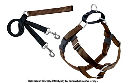 dom No-Pull Dog Harness and Leash, Adjustable Comfortable Control for Dog Walking, Made in USA (Large 1