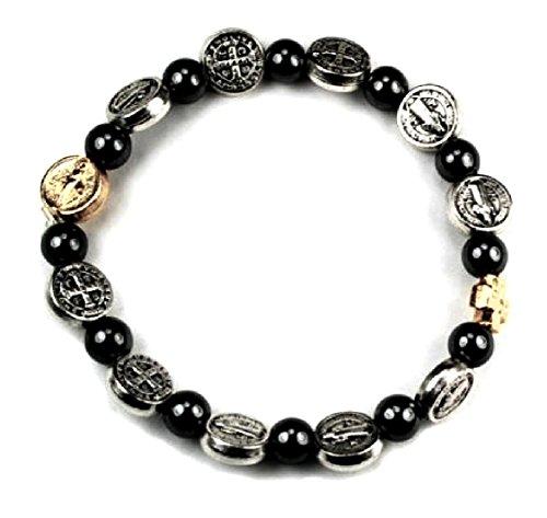 Benedict Bracelet Religious Jewelry Stretch