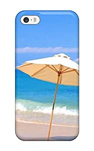 New Coastal Holiday Sand Beach Tpu Case Cover, Anti-scratch JqghUEz149bUjbS Phone Case For Iphone 5/5s