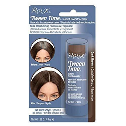 Roux Tween Time Instant Root Concealer Dark Brown, 1 ea (Pack of 10) by Roux