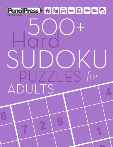 - 500+ Hard Sudoku Puzzles for Adults: Sudoku Puzzle Books Hard (with answers)