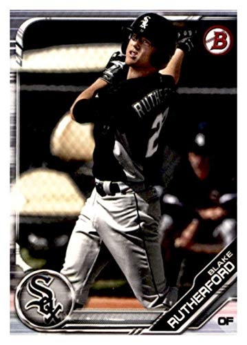 2019 Bowman Prospects Baseball #BP-20 Blake Rutherford Chicago White Sox Official MLB Trading Card From Topps