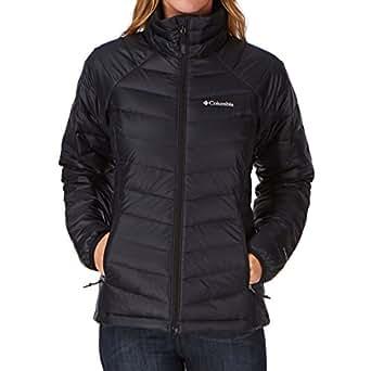 Columbia Women's Plat 860 Turbo Down Jacket, Black, Large
