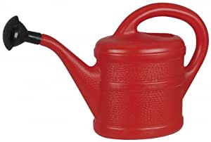 Green Wash Childrens Kids Watering Can - 1L Red Indoor + Outdoor Brand New