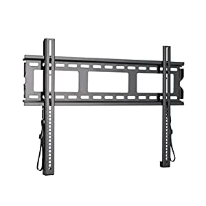 Sanus Super Low Profile TV Wall Mount for 37″-80″ LED, LCD and Plasma Flat and Curved Screen TVs and Monitors – MLL11-B1