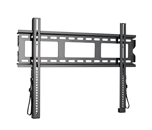 "Sanus Super Low Profile TV Wall Mount for 37""-80"" LED, LCD and Plasma Flat and Curved Screen TVs and Monitors - MLL11-B1"
