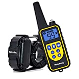 Wodondog Dog Training Collar Rechargeable and IPX7 Waterproof 870yards Remote Dog Shock Collar with Beep Vibration and Shock Electric Collar Dogs
