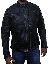 Laverapelle Men's Black Genuine Lambskin Leather Jacket - 1510568