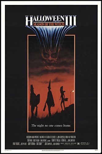 [Halloween III: Season of the Witch 1982 ORIGINAL MOVIE POSTER Horror Sci-Fi - Dimensions: 27