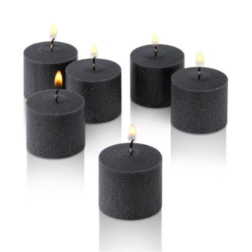 Black Votive Candles Unscented Decorations product image