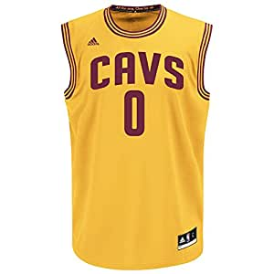 NBA Cleveland Cavaliers Kevin Love #0 Men's Alternate Flex Replica Jersey, 3X-Large, Yellow