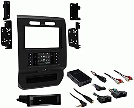 Ford F-150 Single Din Radio Install Dash Kit /& Wires Car Stereo Mount 99-5800