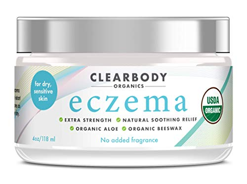 Eczema Cream, Natural Anti Itch Moisturizer for Dermatitis &