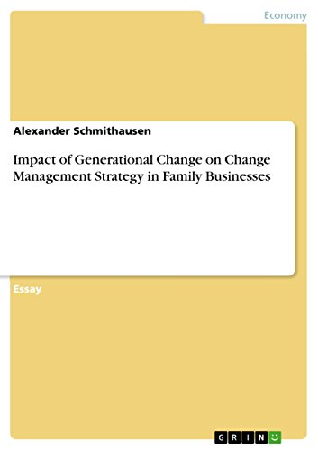 Example Essay English Impact Of Generational Change On Change Management Strategy In Family  Businesses By Schmithausen Alexander English Essay My Best Friend also How To Write A Proposal Essay Amazoncom Impact Of Generational Change On Change Management  English Essay Pmr