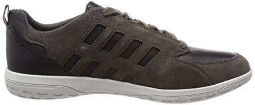 Mansel A Marron Geox Sneakers Homme Charcoal Basses U Sage Paxw5qZ