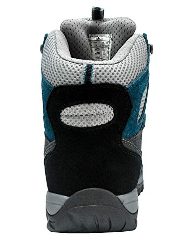 Riemot Montagne bleu Gris Escalade Marche Bottes De Impermeable Chaussure Trekking Montantes Randonnée Outdoor Femme Sport Hiver Légères rFqwrCRT