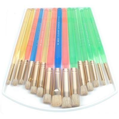 Royal Brush CLSTEN 15 Clear Choice Stencil Brush Deluxe Value Pack Multicolor