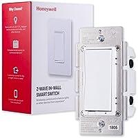 Honeywell Z-Wave Plus On/Off Smart Light Switch, In-Wall...