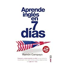 Aprenda ingles en 7 días: Garantizado: Con este método podrás desenvolverte en Inglés en 7 días
