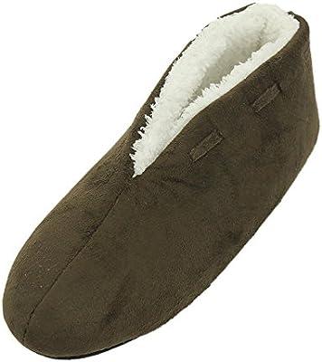 aac797b929b29 Home Slipper Slipper Booties Women's Men's Coral Fleece Soft Lining Non  Slip Indoor House Shoes,