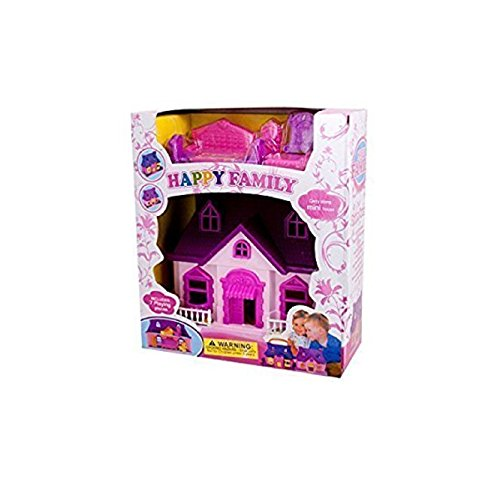 Tent Cottage Kids Furniture (Mini Dream House Play Set Kids Children)