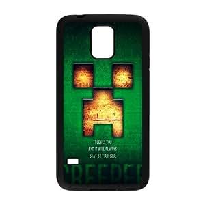 Classic Case MINECRAFT pattern design For Samsung Galaxy S5 Phone Case