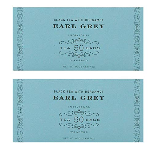 (Harney & Sons Black Tea, Earl Grey, 50 Tea Bags (Pack of)