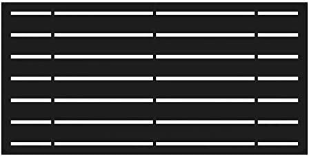 YardSmart 73042822, Black Decorative Screen Panel 2X4-Boardwalk