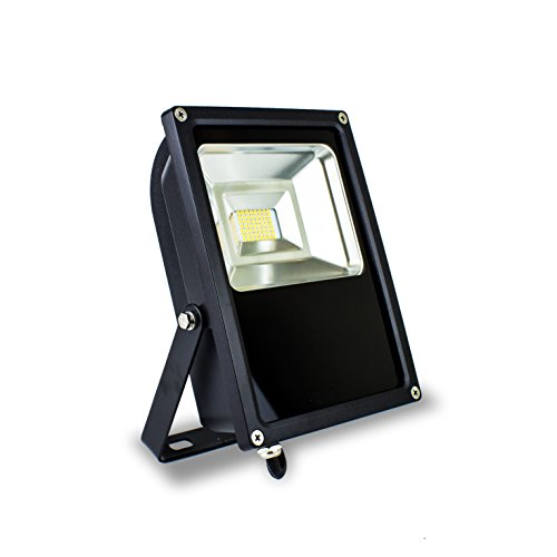 Cyron 50W Multi-Chip SMD LED Flood Light with 180° Rotatable Bracket, 300W Equivalent, 4000K Neutral White, Ultra Bright 4750 Lumens, IP65 Waterproof, Indoor & Outdoor Use, UL/DLC Listed
