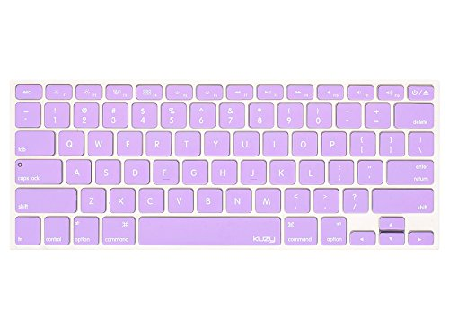 Kuzy Silicone Skin Keyboard Cover, Light Purple