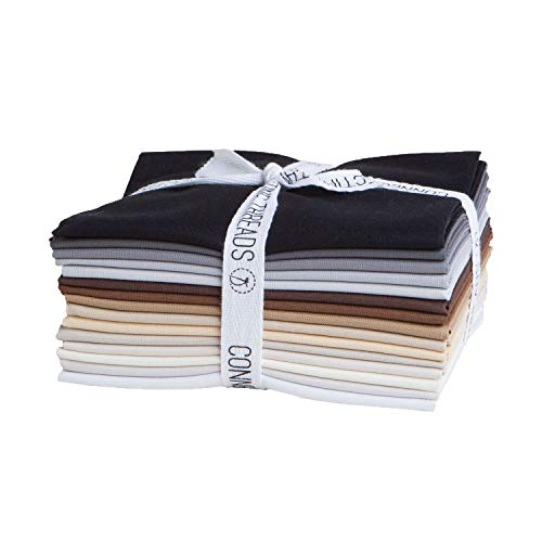 - Connecting Threads Color Wheel Premium Precut Fabric Bundle (Rocky Mountain Fat Quarters)