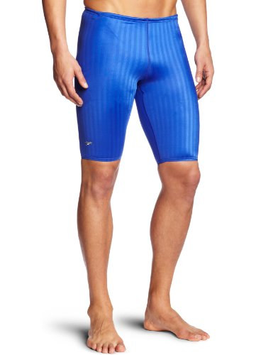 Speedo Men's Aquablade Jammer Swimsuit, Royal Blue, - Jammers Royal Blue