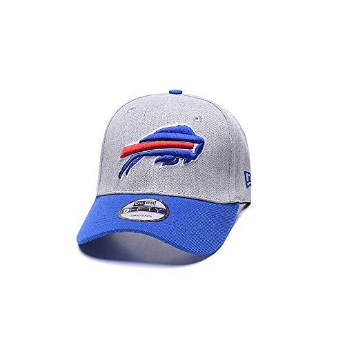 Eras edge Adult Men's Challenger Baseball Cap, Adjustable All-Star Baseball Hat (Buffalo Bills)