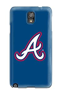 For GUccOYt10461YWJkd Atlanta Braves Protective Case Cover Skin/galaxy Note 3 Case Cover
