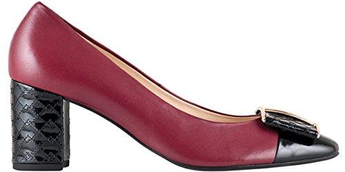 Högl - Zapatos de vestir para mujer rosberry