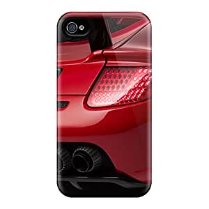 Cases Covers Compatible For Iphone 6/ Hot Cases/ 2007 Gemballa Mirage Gt Red Edition Based On Porsche Carrera Gt Tail Pipes