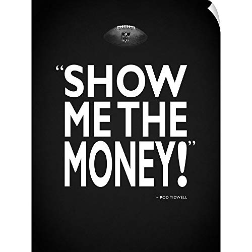 - CANVAS ON DEMAND Jerry Maguire - Show Me Wall Peel Art Print, 27