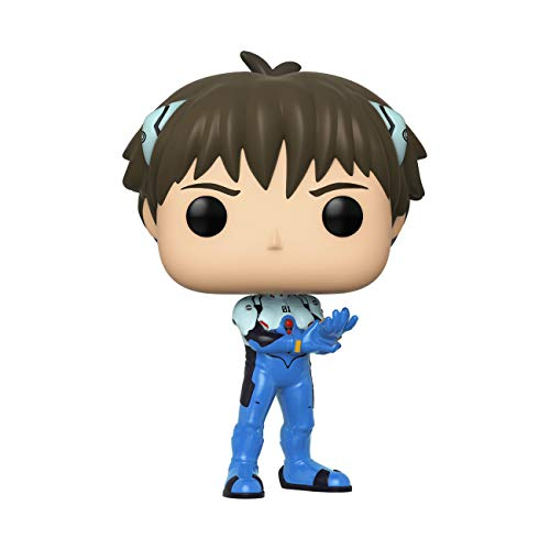 Funko- Pop Animation Evangelion-Shinji Ikari Neon Genesis Collectible Toy, Multicolor (45118)